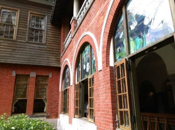 Beitou23 北投-溫泉博物館 感受最原始的北投風味 但這建築也太吸睛了