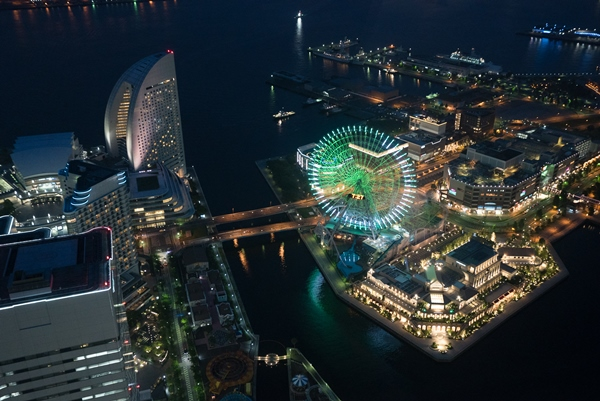 DSC05246 Yokohama-來地標Landmark大樓 賞橫濱港夜景