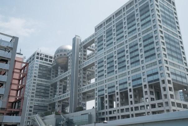 Fujitv01 Odaiba-台場地標富士電視台 前進球體一探究竟