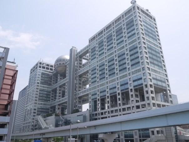 Fujitv02 Odaiba-台場地標富士電視台 前進球體一探究竟