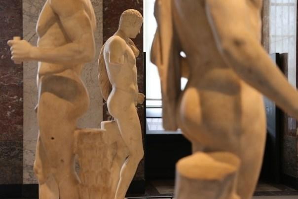 IMG_4448 Paris-巴黎羅浮宮Musee du Louvre 三寶還有勝利女神跟斷臂維納斯