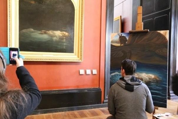 IMG_4517 Paris-巴黎羅浮宮Musee du Louvre 三寶還有勝利女神跟斷臂維納斯