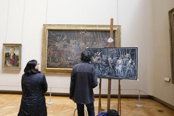 IMG_4531 Paris-巴黎羅浮宮Musee du Louvre 三寶還有勝利女神跟斷臂維納斯