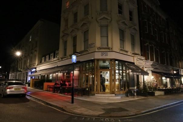 OPSO01 London-倫敦Marylebone車站附近 特色希臘料理OPSO米其林推薦喔