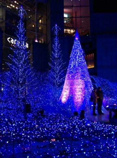 Shiodome09 Shiodiome-Caretta Illumination 2015 矽留燈光秀 無敵浪漫耶誕快樂