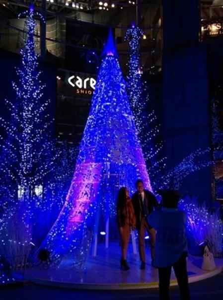 Shiodome13 Shiodiome-Caretta Illumination 2015 矽留燈光秀 無敵浪漫耶誕快樂