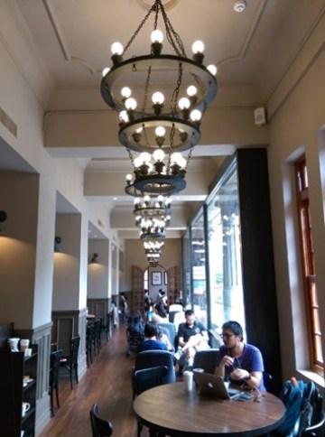 Starbucks18 大同-古蹟遇到星巴克 大稻埕鳳梨大王的家 星巴克保安門市