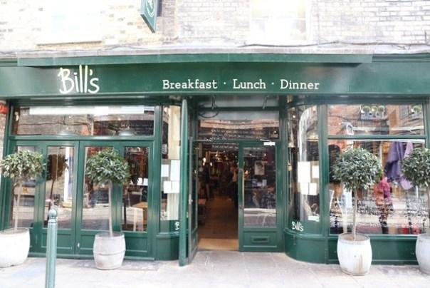 cambridge-bills02 Cambridge-是Bill's不是Bills 唉呦...誤會大了 餐點很不同 東西普通...