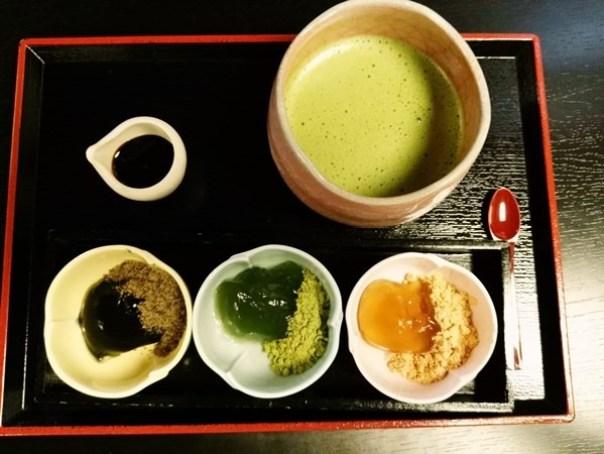 dessert12 Kyoto-峯嵐堂 渡月橋本店 好吃的蕨餅(わらびもち)