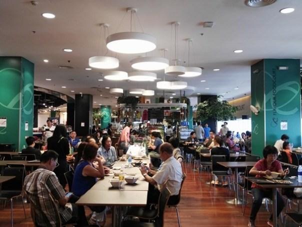 foodhall02 Bangkok-Central World Food Court高級美食街美食選擇多
