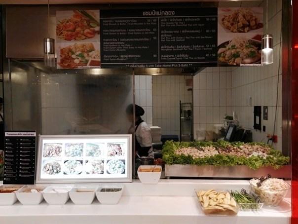 foodhall11 Bangkok-Central World Food Court高級美食街美食選擇多