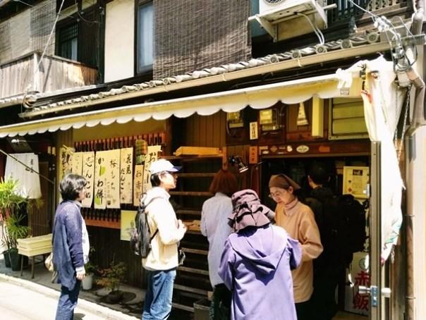 gion05 Kyoto-祇園饅頭 林 鶴遊堂 兩百年的京都和菓子店