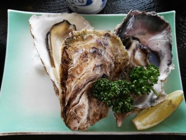 kaki13 Matsushima-たいかん亭 搭船遊松島前來一份牡蠣大餐 牡蠣也太大顆飽滿!
