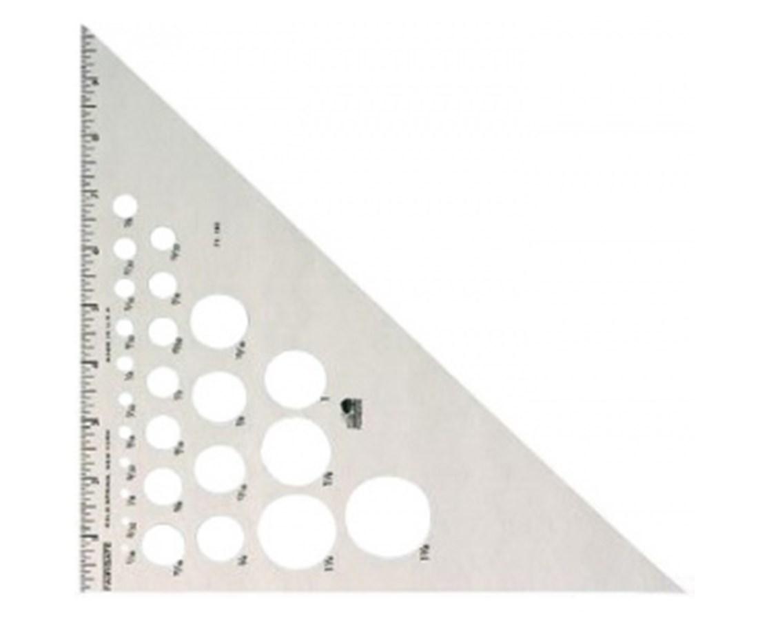 Fairgate Aluminum Triangle 45 90 Tiger Supplies