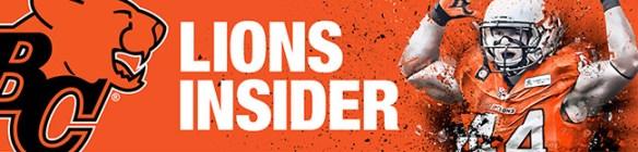 BC Lions Insider