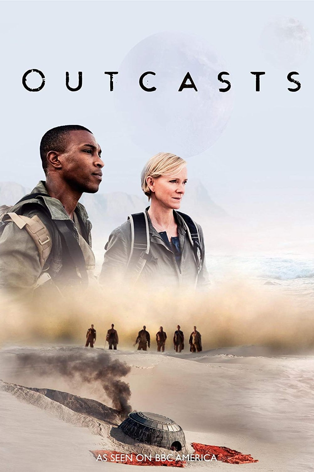 Outcasts series tv complet