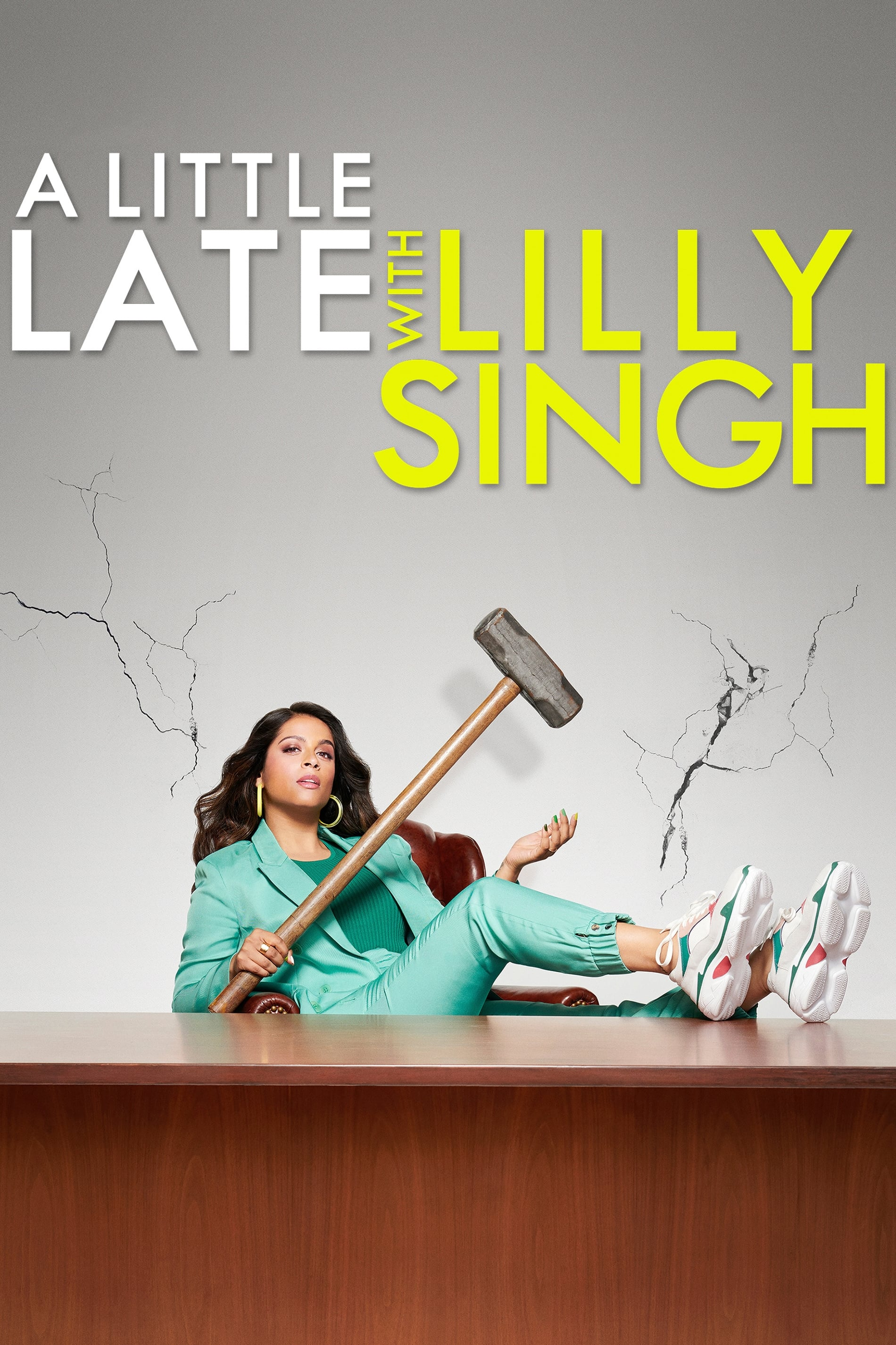 A Little Late with Lilly Singh series tv complet