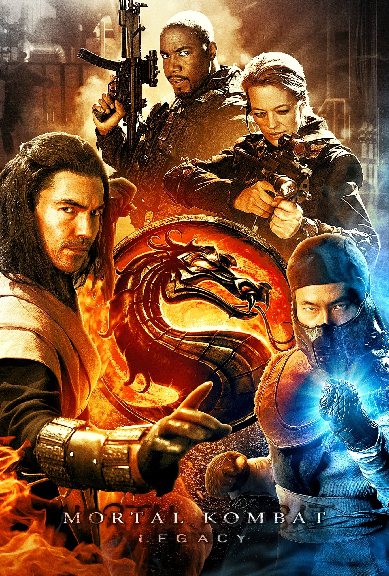 Mortal Kombat: Legacy series tv complet