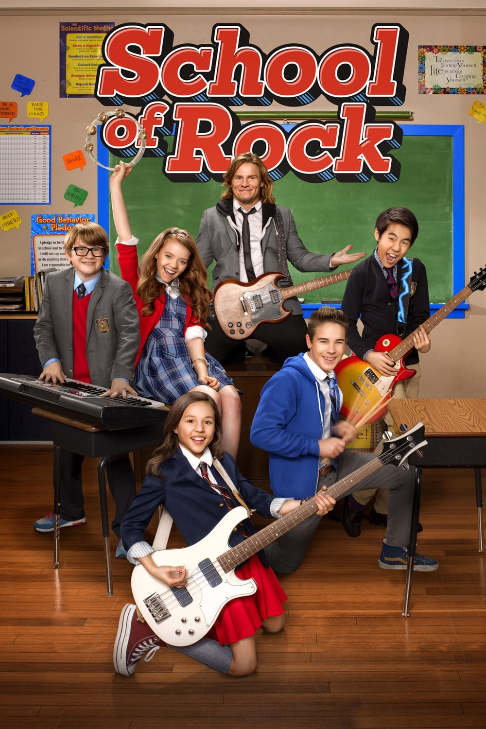 School of Rock series tv complet