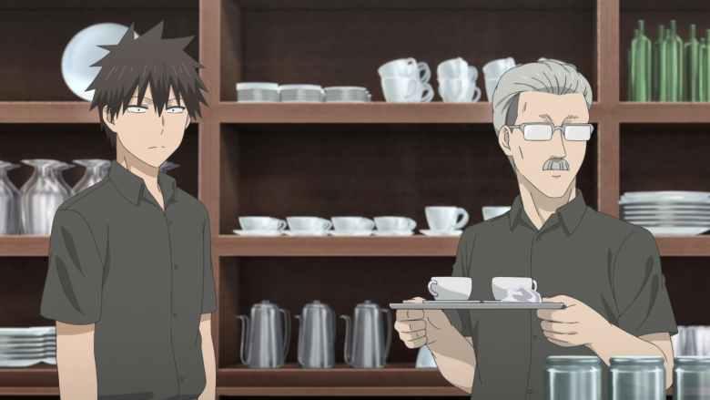 The Café Owner Wants a Glimpse