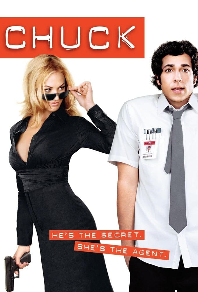 Chuck series tv complet