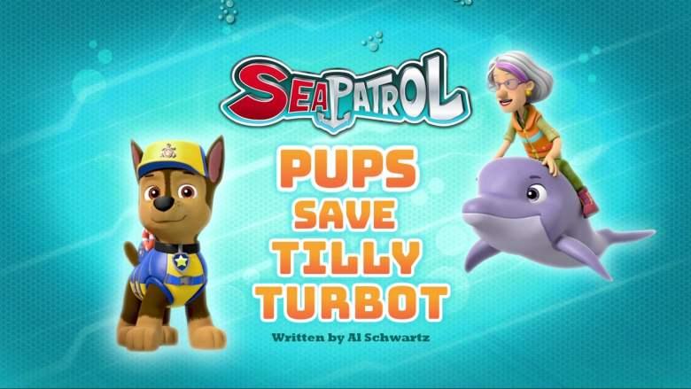 Sea Patrol: Pups Save Tilly Turbot