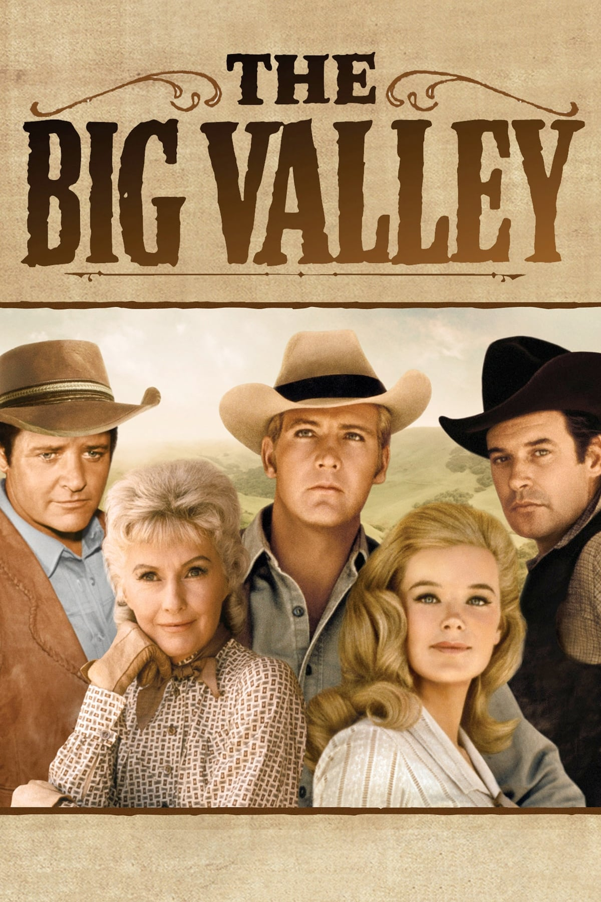 The Big Valley series tv complet