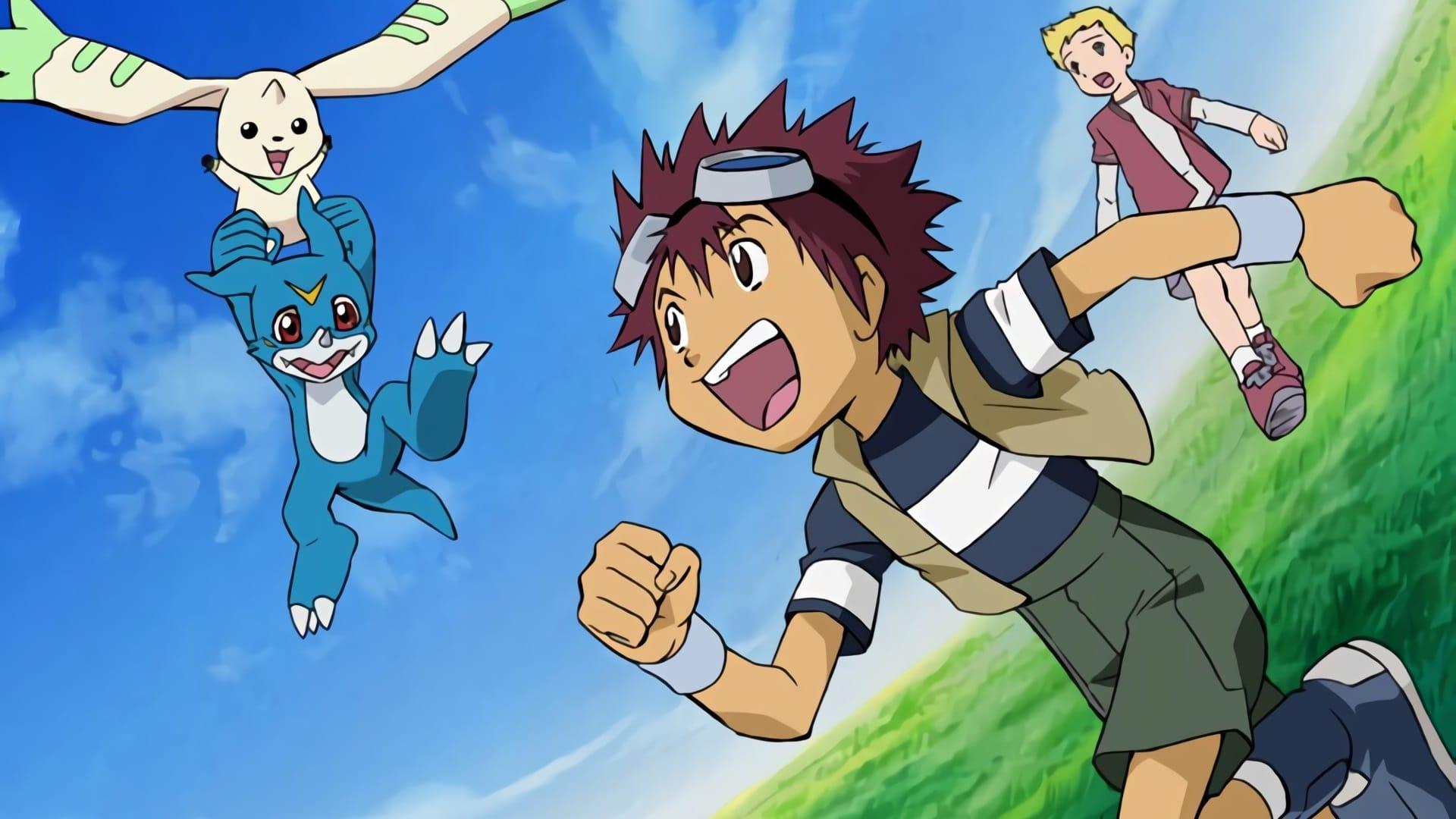 Digimon Adventure 02 – Hurricane Touchdown! The Golden Digimentals