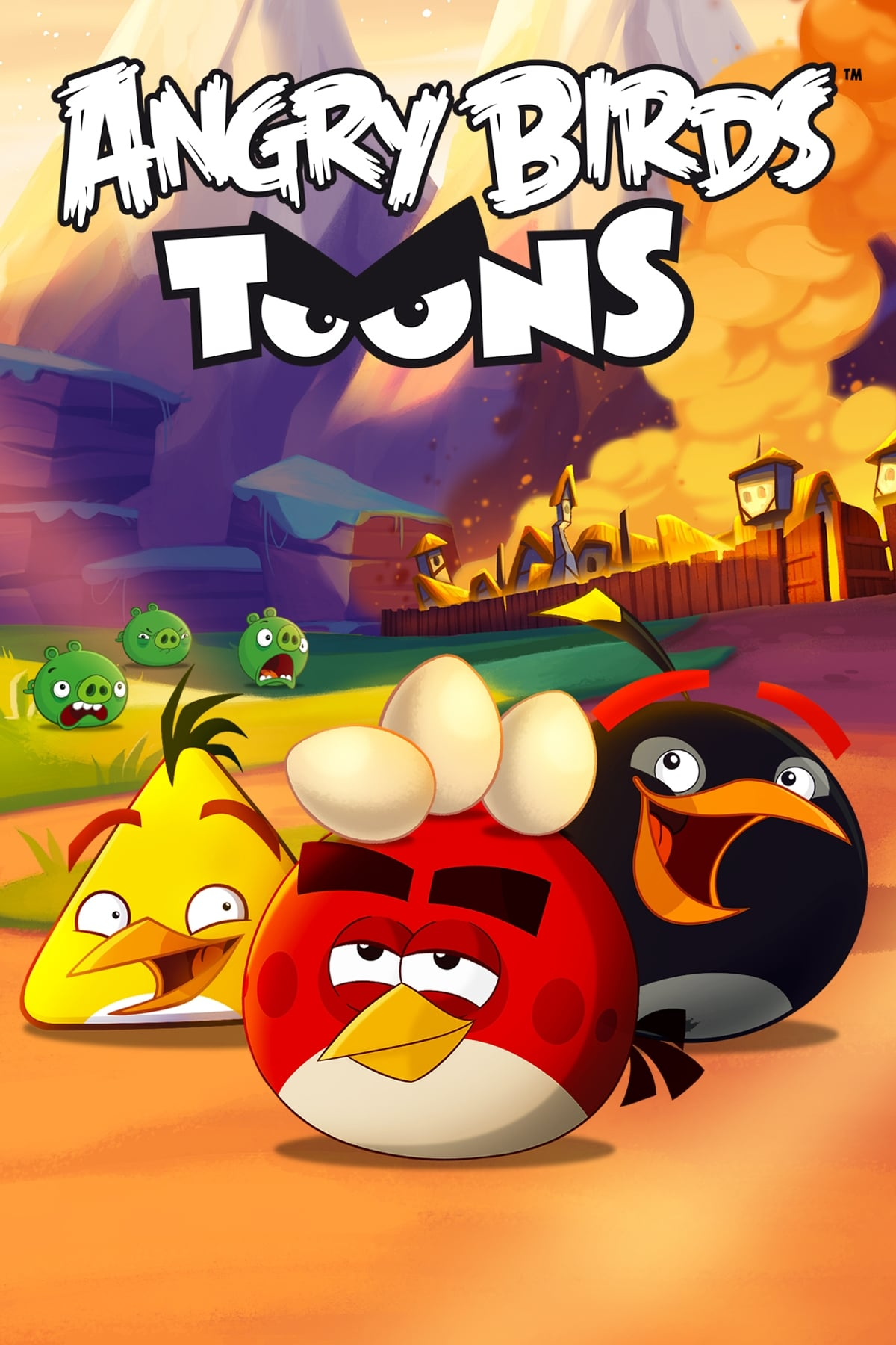 Angry Birds  series tv complet