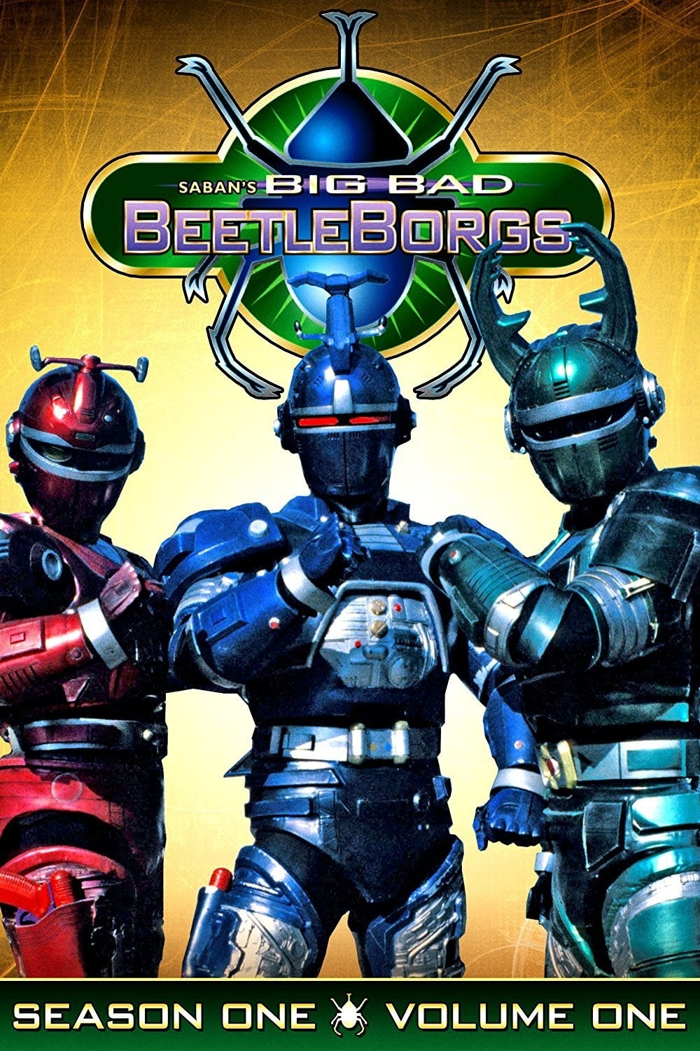 Big Bad Beetleborgs series tv complet
