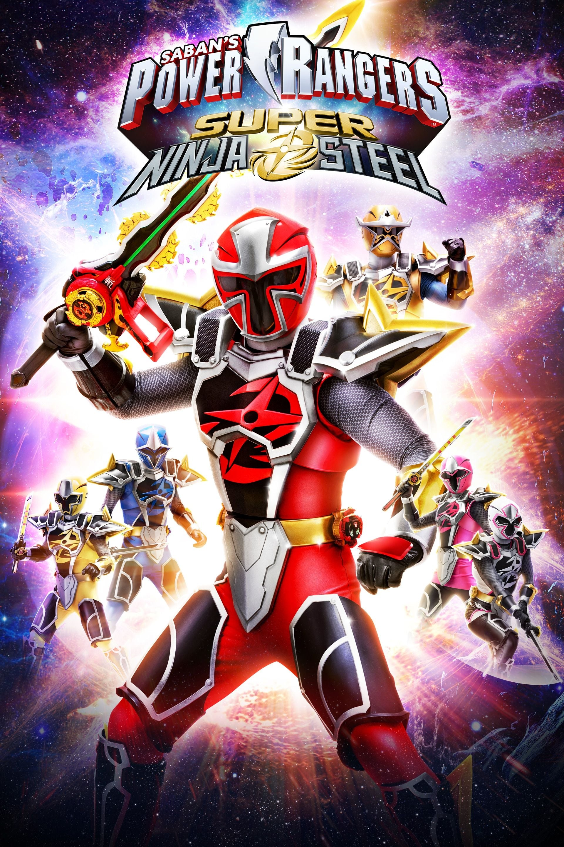 Power Rangers Ninja Steel series tv complet