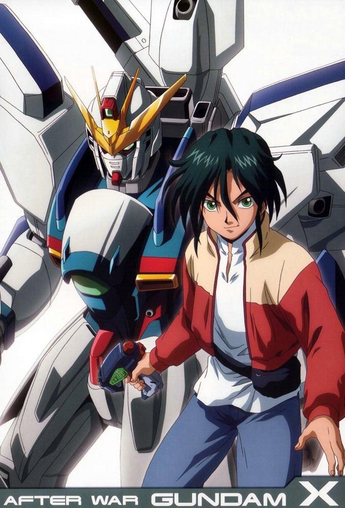 After War Gundam X series tv complet