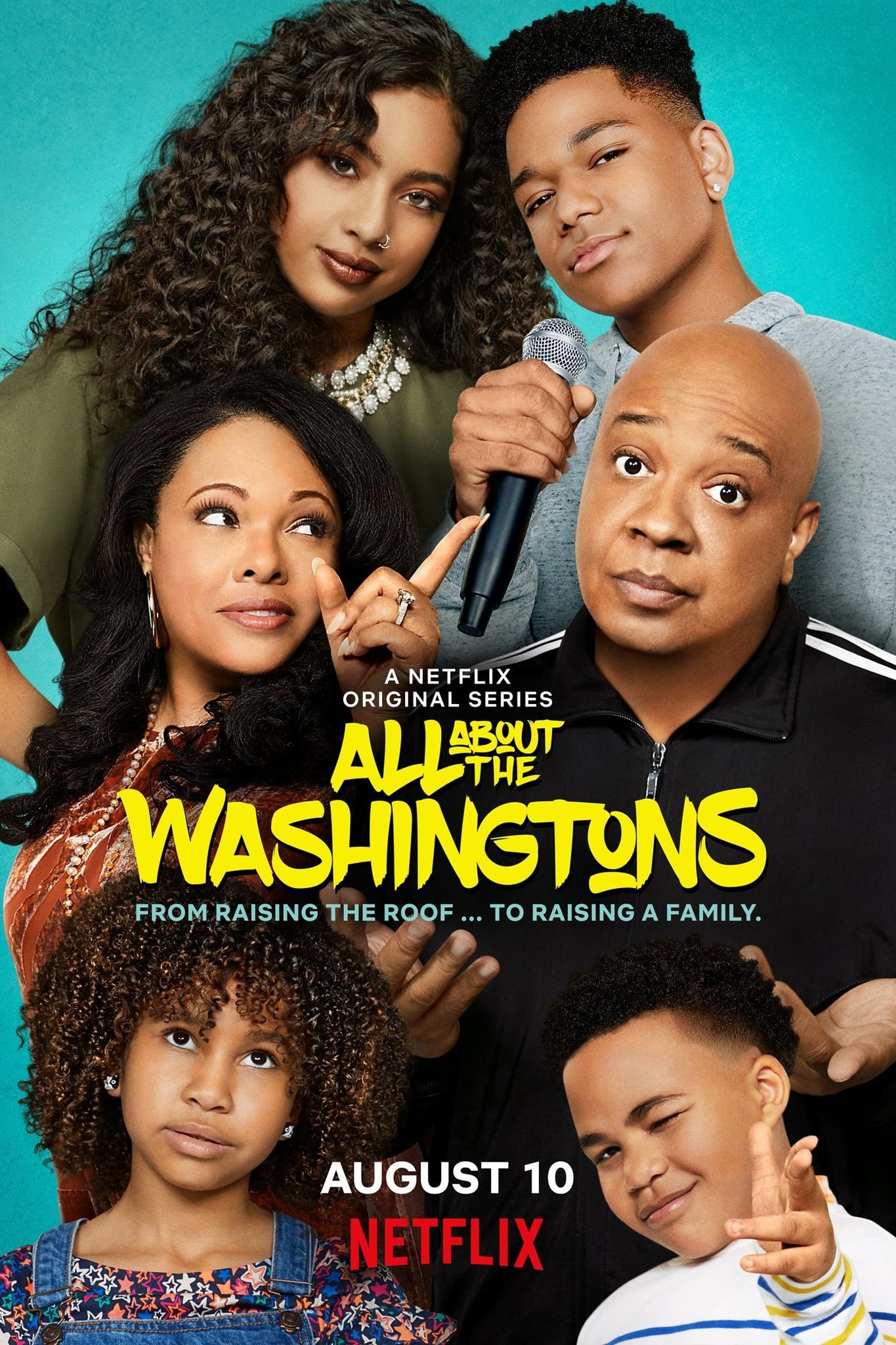 All About the Washingtons series tv complet