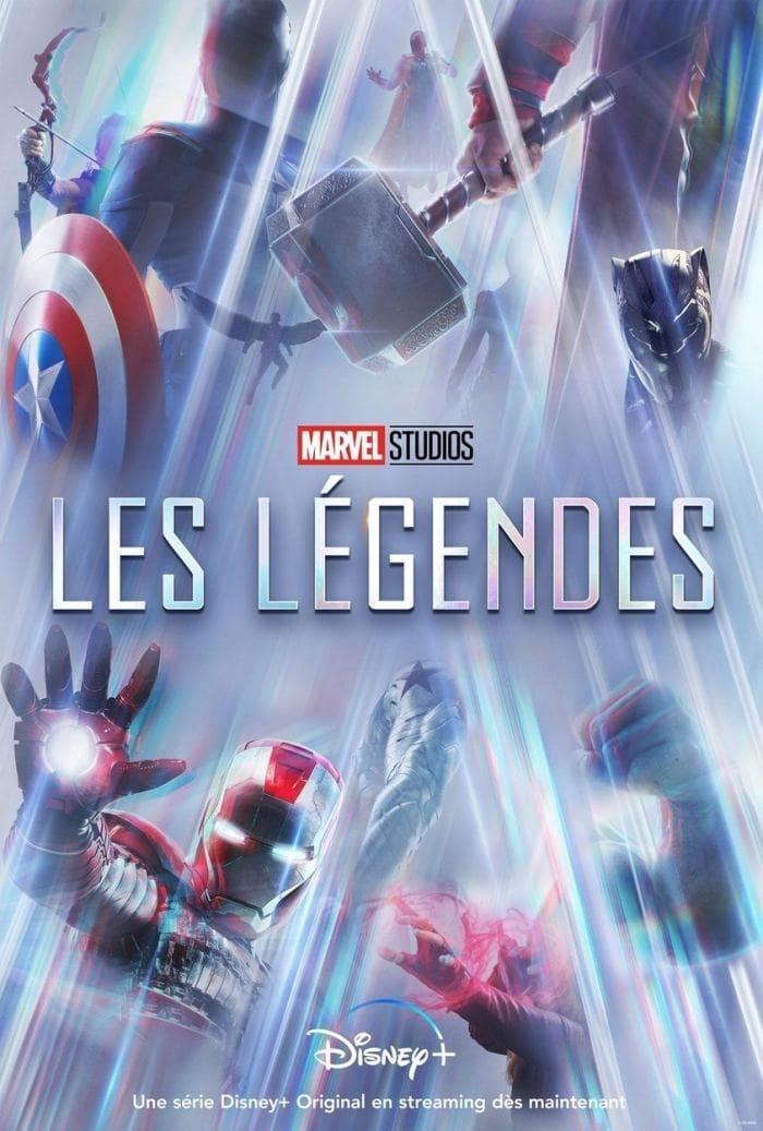 Les Légendes des Studios Marvel series tv complet