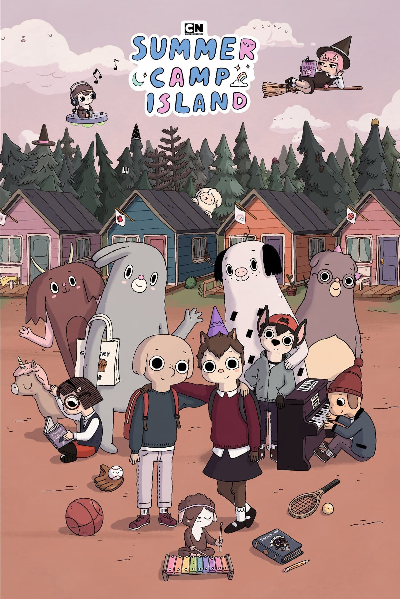 Summer Camp Island series tv complet