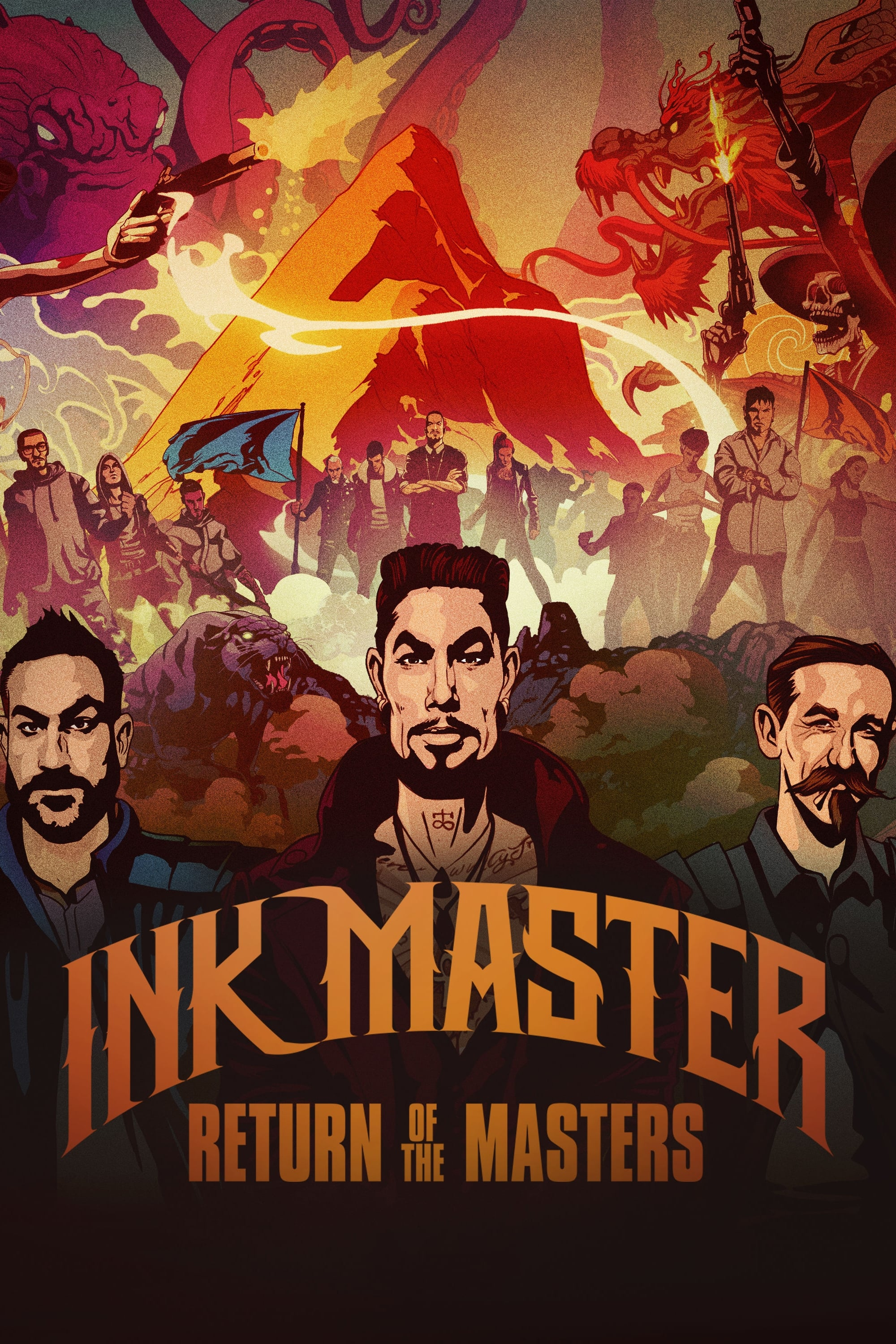 Ink Master series tv complet