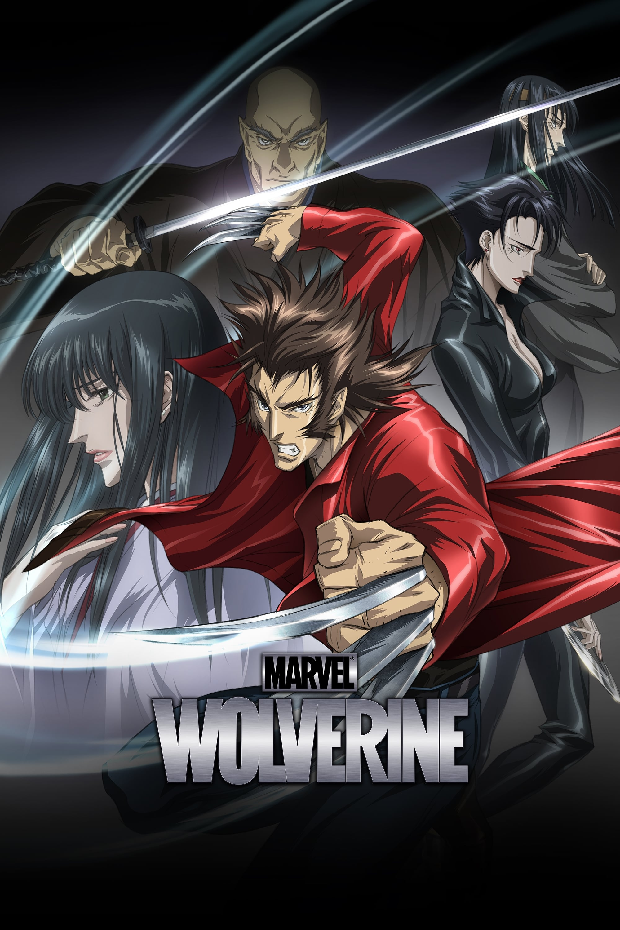 Marvel Anime Wolverine series tv complet