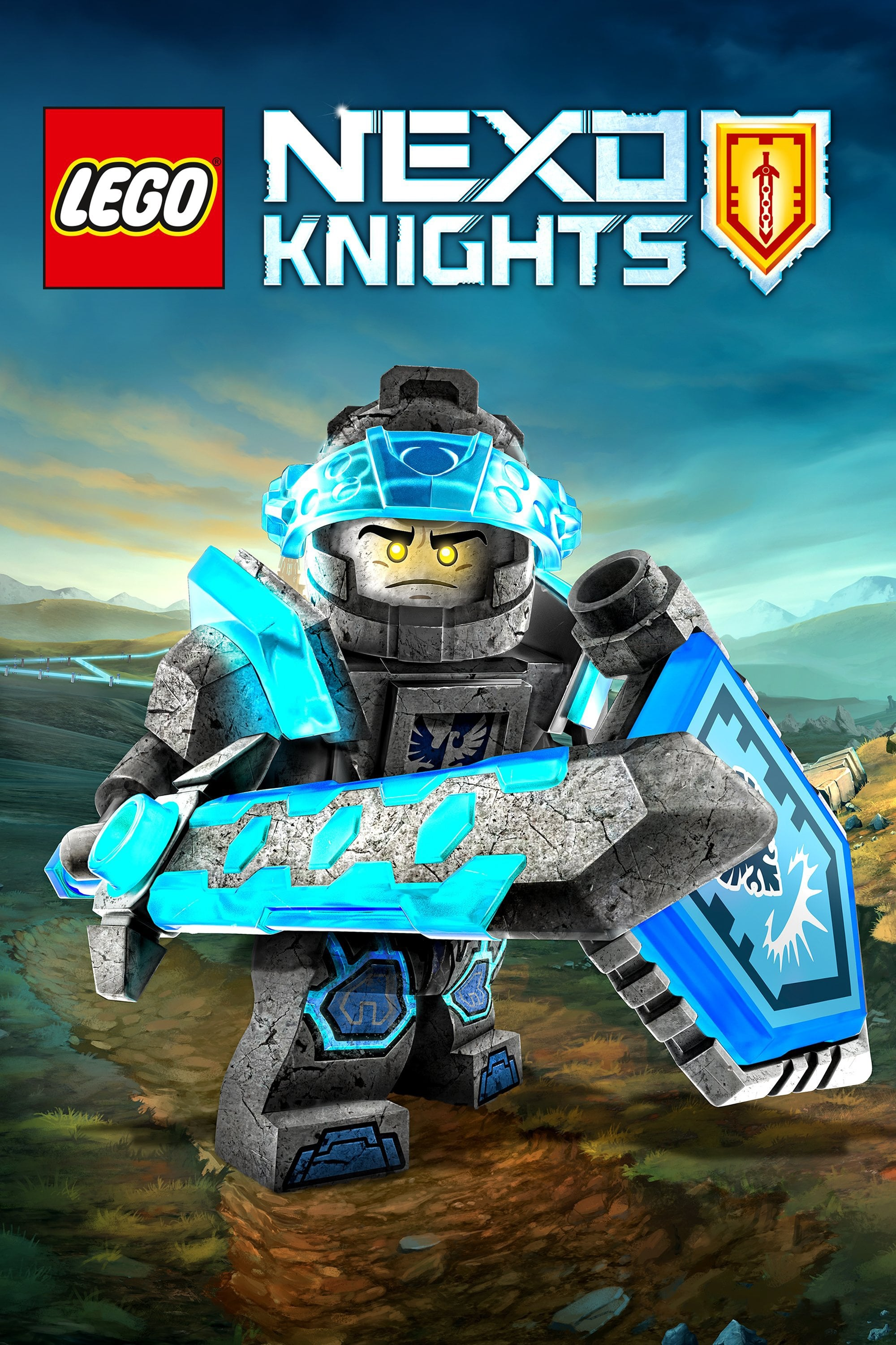 LEGO Nexo Knights series tv complet