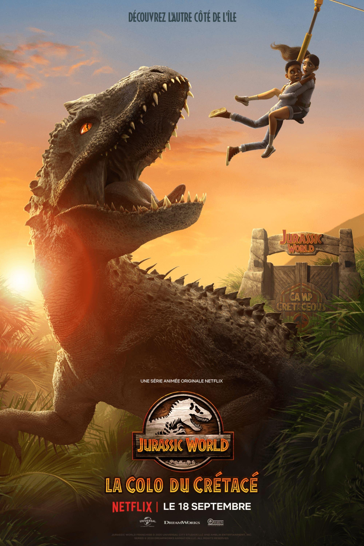 Jurassic World : La Colo du Crétacé series tv complet