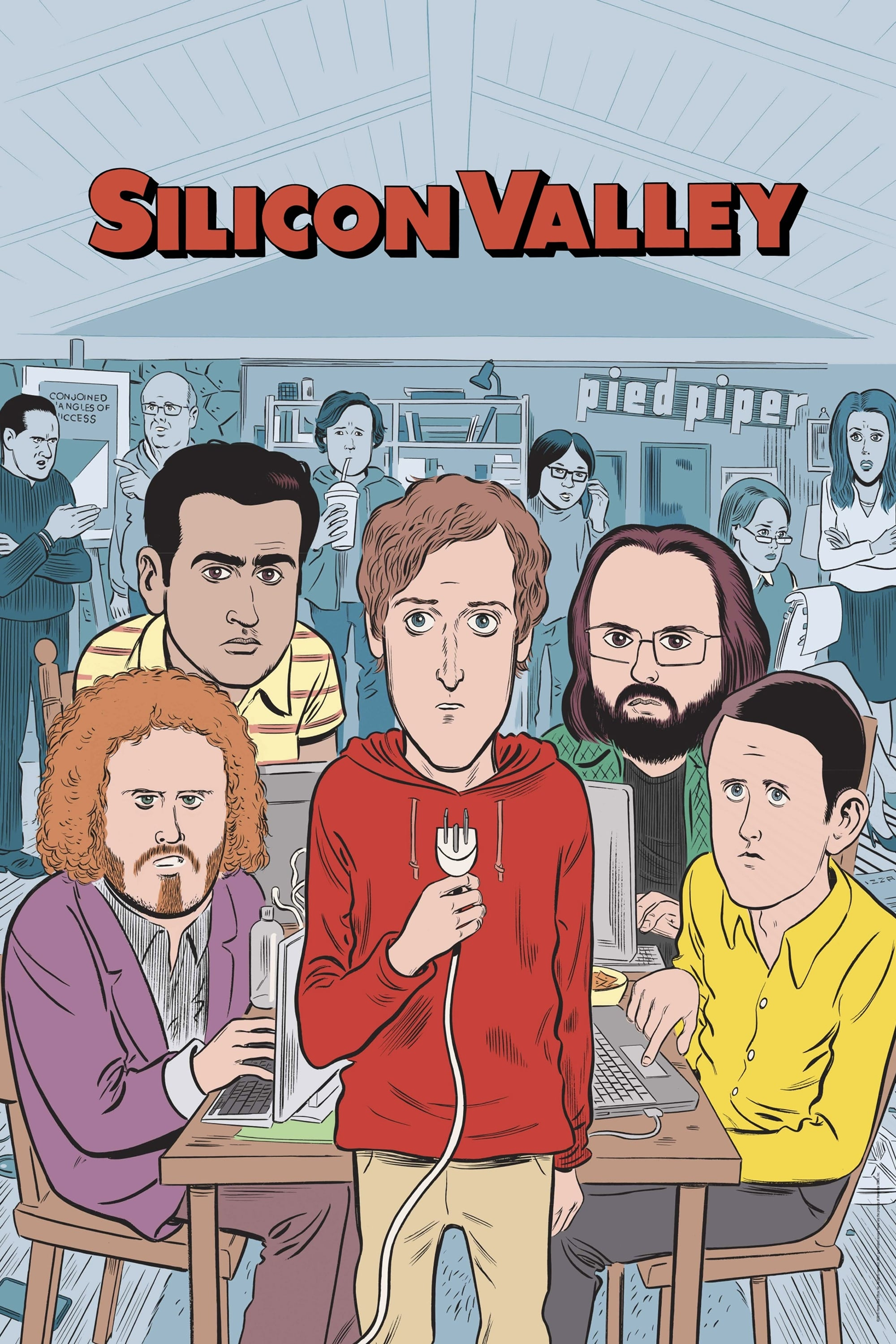 Silicon Valley series tv complet