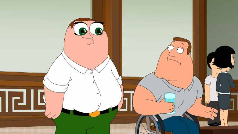 Peter Griffin: Husband, Father... Brother?