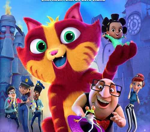 """Poster for the movie """"Lino - Uma Aventura de Sete Vidas"""""""