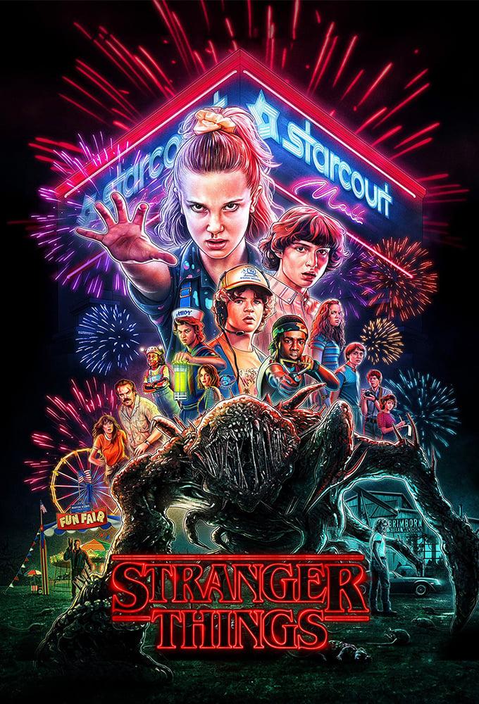 Stranger Things series tv complet