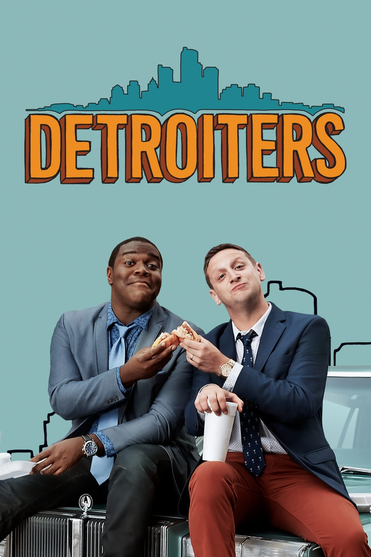 Detroiters series tv complet