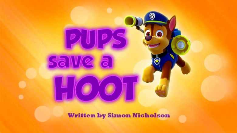 Pups Save a Hoot