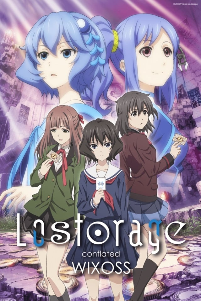Lostorage Incited WIXOSS series tv complet