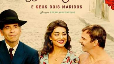 "Poster for the movie ""Dona Flor e Seus Dois Maridos"""