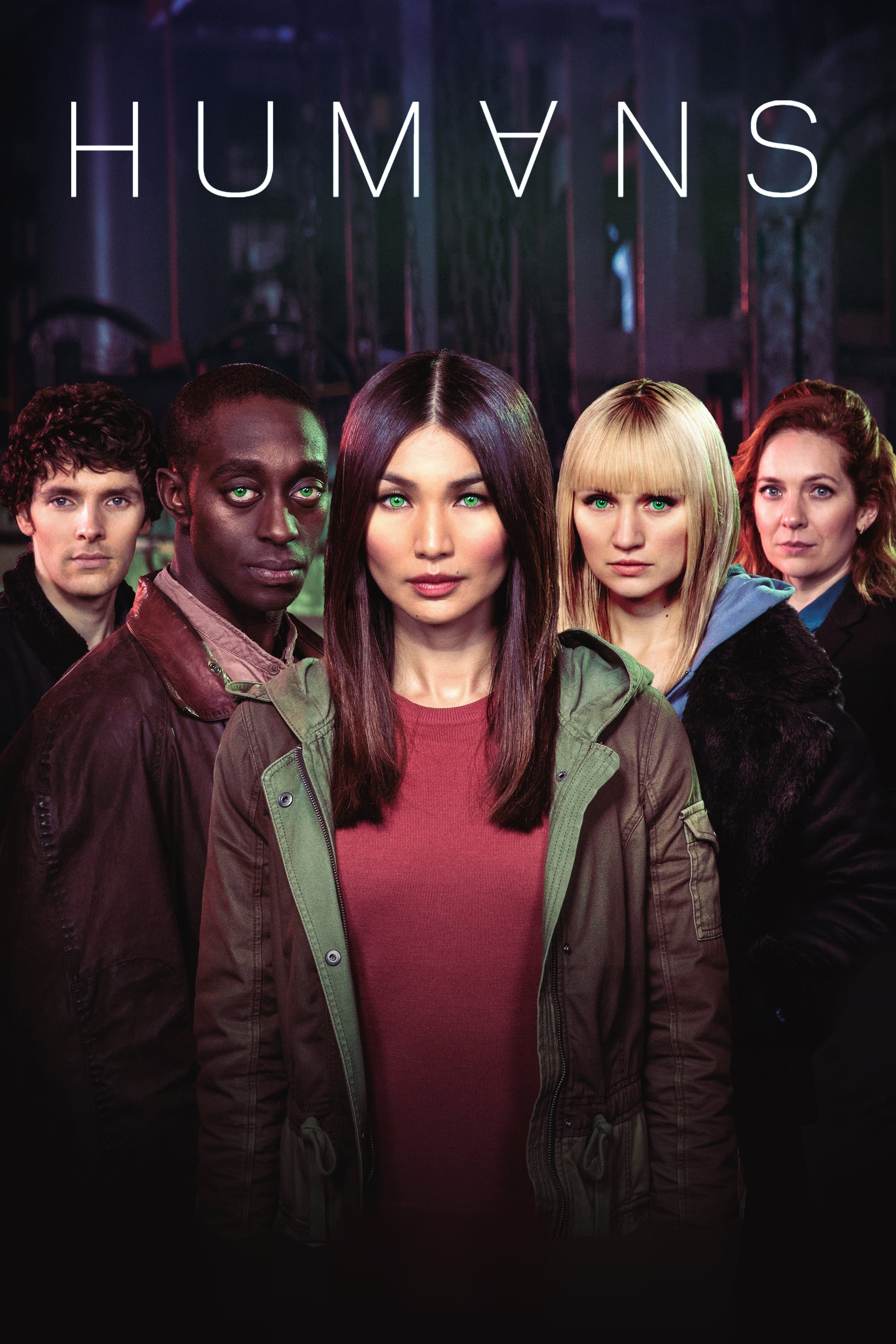 Humans series tv complet