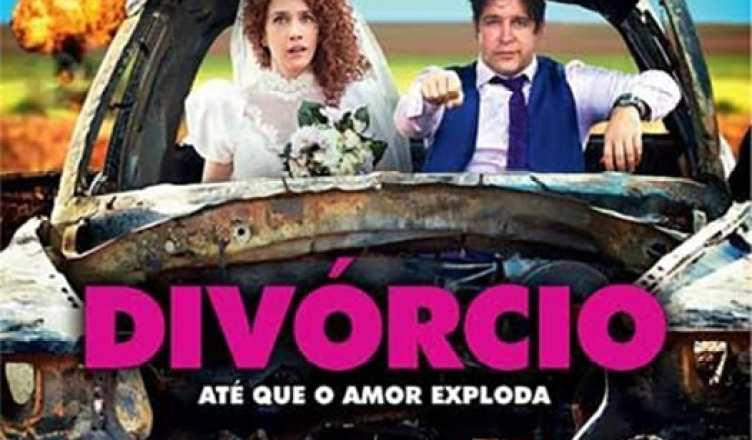 "Poster for the movie ""Divórcio"""