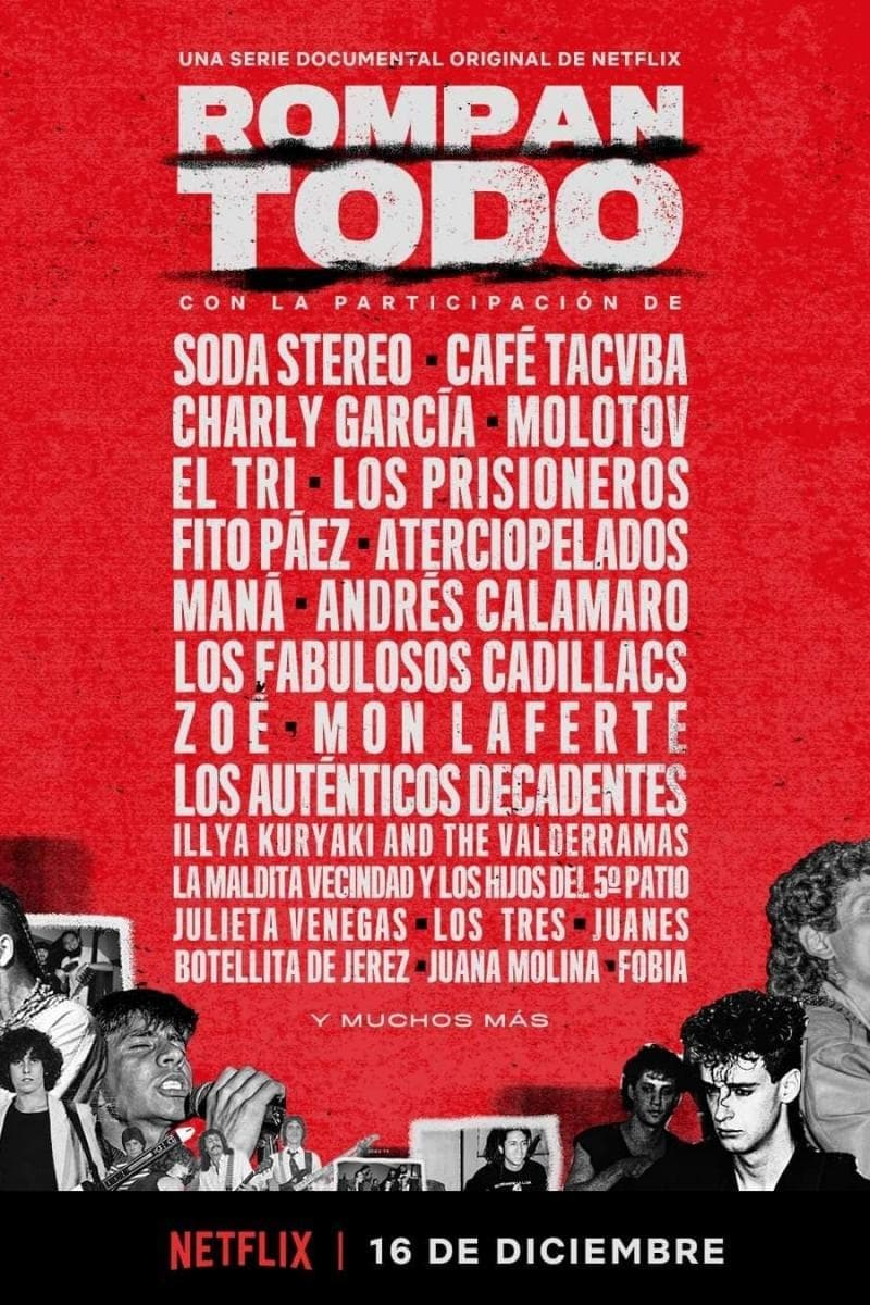 Rompan todo: La historia del rock en América Latina series tv complet